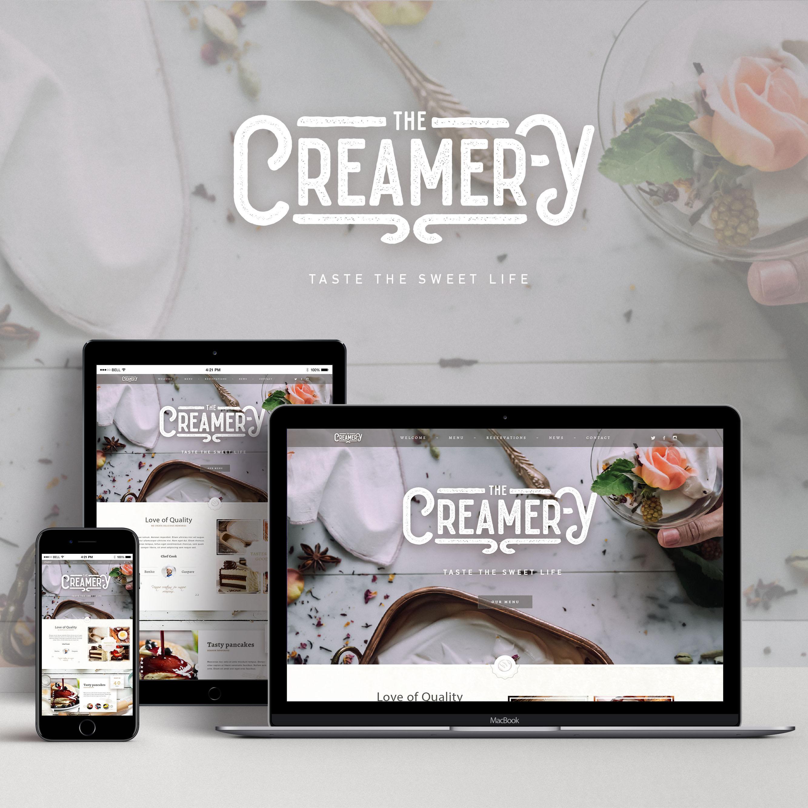 UI/UX Design - Creamery