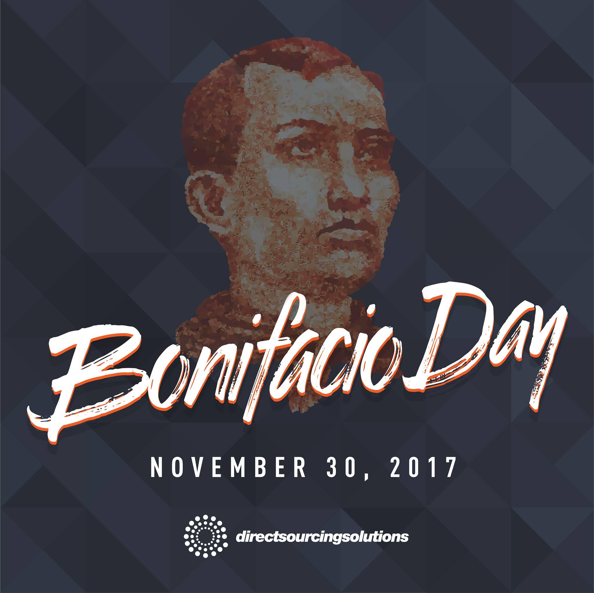 Design Advertisement - Bonifacio Day
