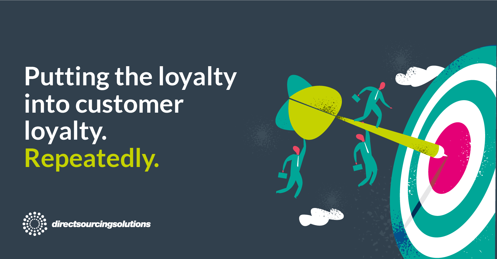 Putting the loyalty into customer loyalty Repeatedly